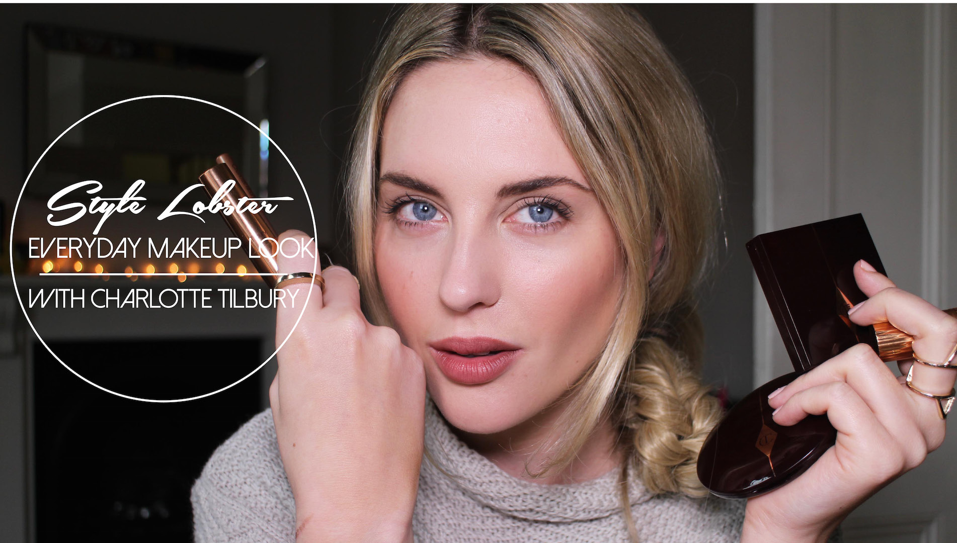 HOW TO EVERYDAY MAKEUP LOOK WITH CHARLOTTE TILBURY MAKEUP