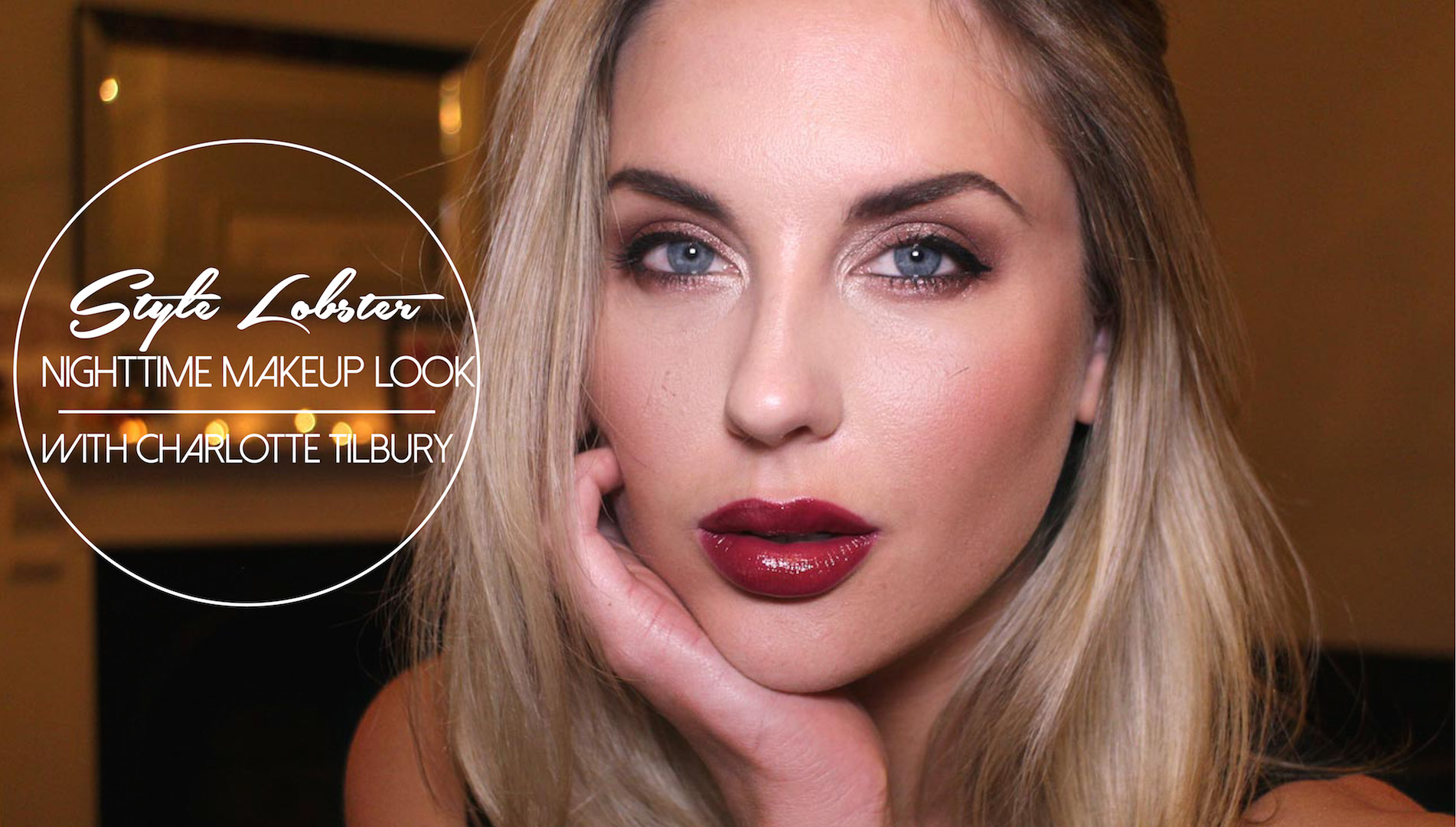 How To Nighttime Makeup Look With Charlotte Tilbury